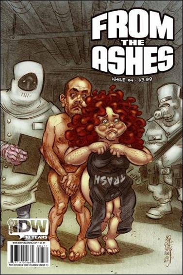From The Ashes 4-A by IDW