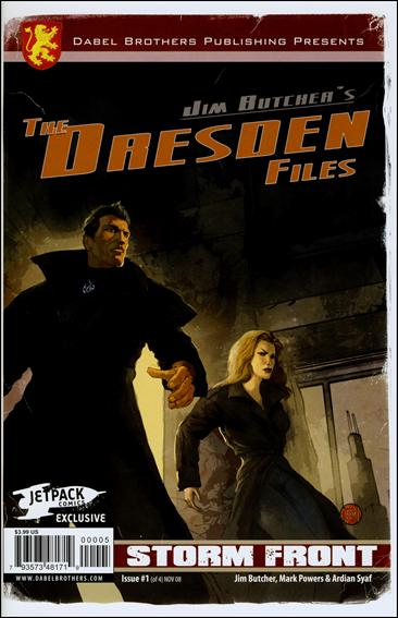 Jim Butcher's The Dresden Files: Storm Front (2008) 1-B by Dabel Brothers (DB) Productions