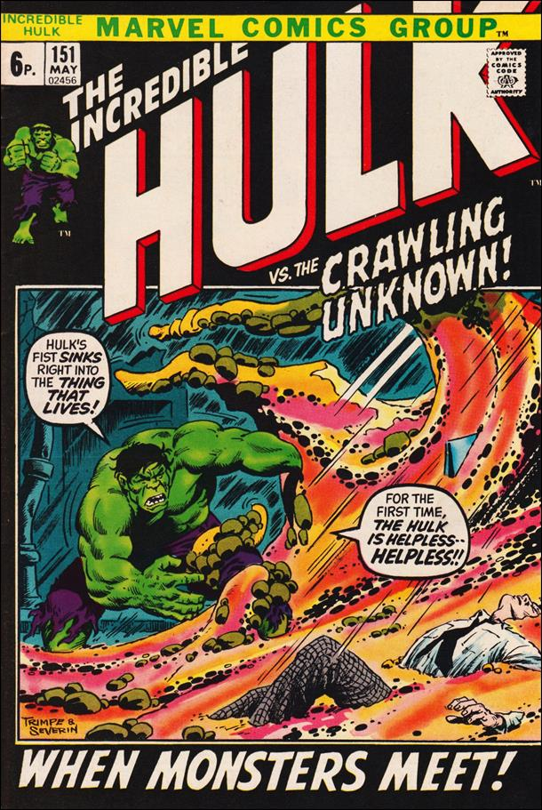 Incredible Hulk (1968) 151-B by Marvel