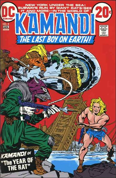 Kamandi, the Last Boy on Earth 2-A by DC