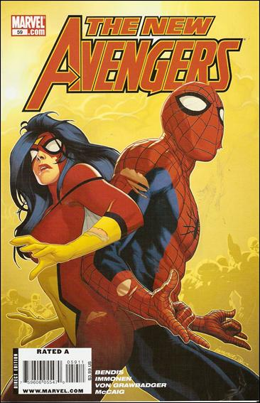 New Avengers (2005) 59-A by Marvel