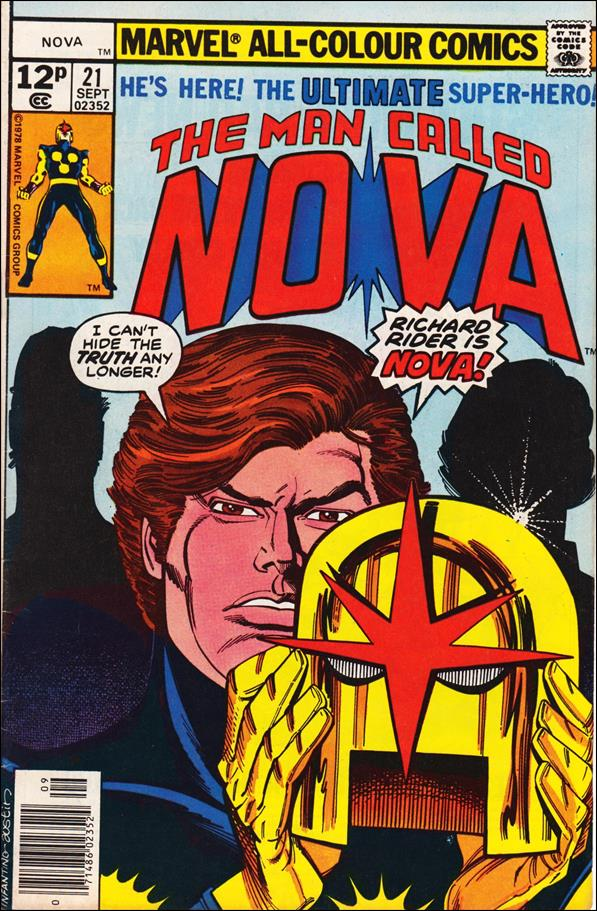 Nova (1976) 21-B by Marvel