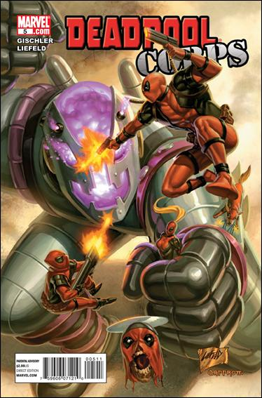 Deadpool Corps 5-A by Marvel