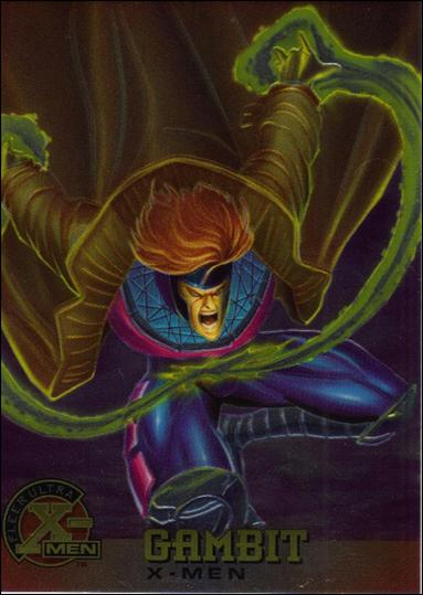 1995 Fleer Ultra X-Men All Chromium (Base Set) 6-A by Fleer