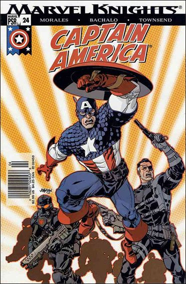 Captain America (2002) 24-A by Marvel