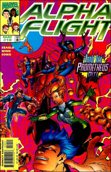 Alpha Flight (1997) 10-A by Marvel