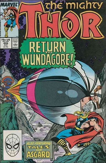 Thor (1966) 406-A by Marvel