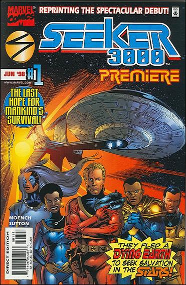 Seeker 3000 Premiere 1-A by Marvel