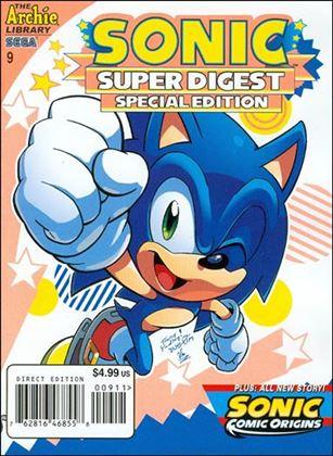 Sonic Super Digest 9-A