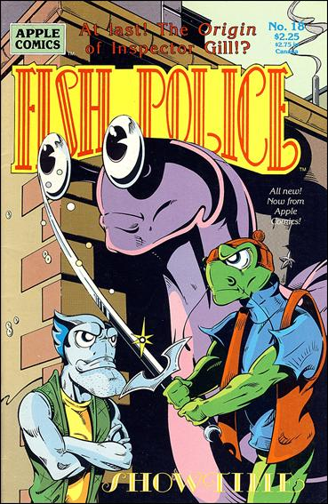 Fish Police (1988) 18-A by Comico
