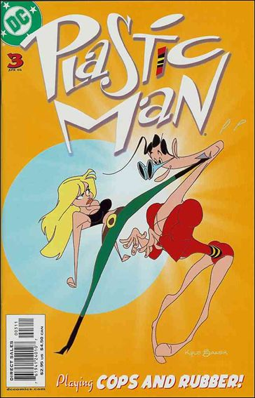 Plastic Man (2004) 3-A by DC