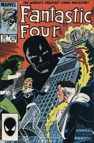 Fantastic Four (1961) 278-A by Marvel