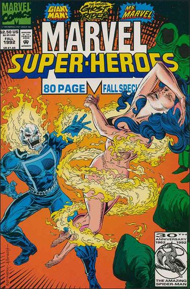 Marvel Super-Heroes (1990) Fall 1992-A by Marvel