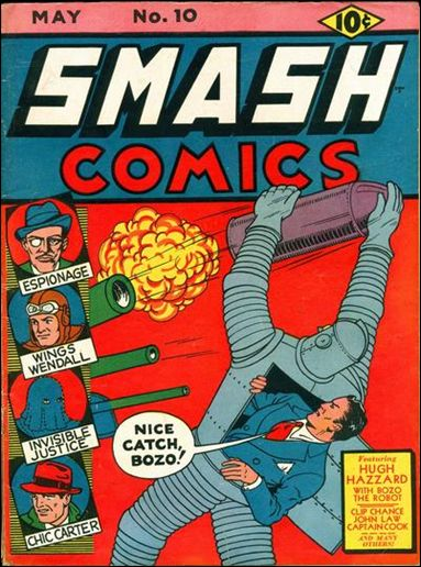 Smash Comics (1939) 10-A by Quality