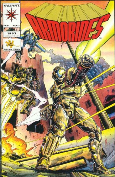 Armorines (1993) 0-A by Valiant