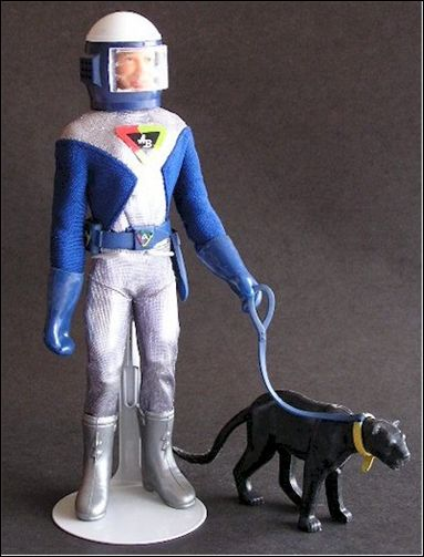 "Captain Action (9"" Figures) Action Boy (the Bold Adventurer) by Ideal"