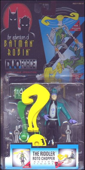 Adventures of Batman and Robin: Duo Force Riddler (Roto Chopper) by Kenner