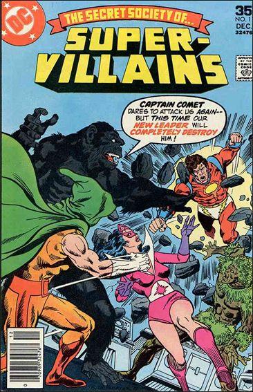 Secret Society of Super-Villains 11-A by DC