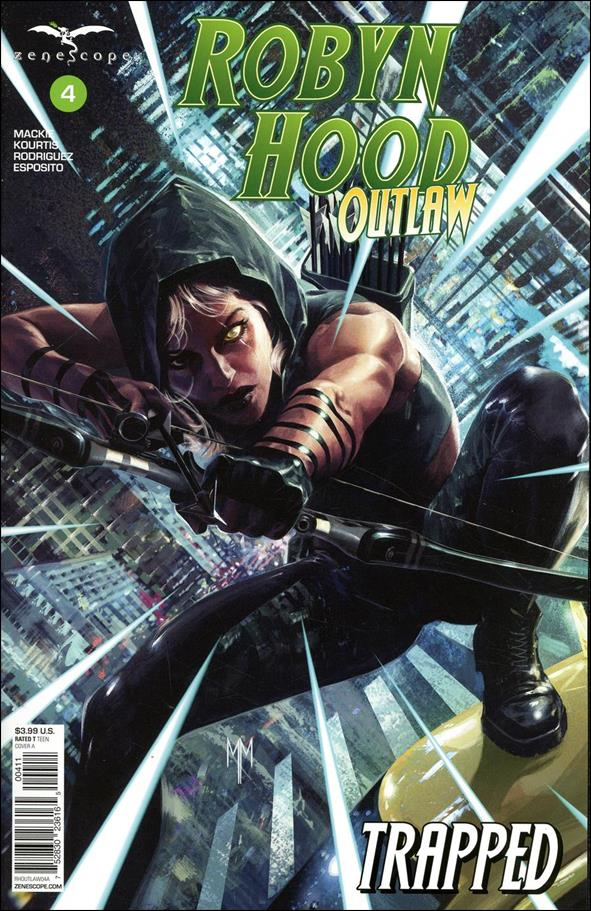 Robyn Hood: Outlaw 4-A by Zenescope Entertainment