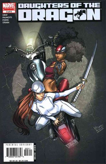 Daughters of the Dragon 3-A by Marvel