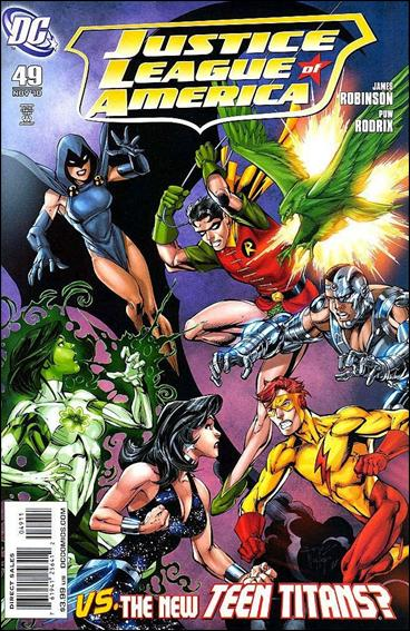 Justice League of America (2006) 49-A by DC