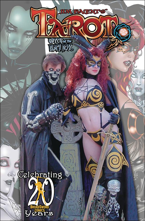 Tarot: Witch of the Black Rose 121-D by BroadSword Comics