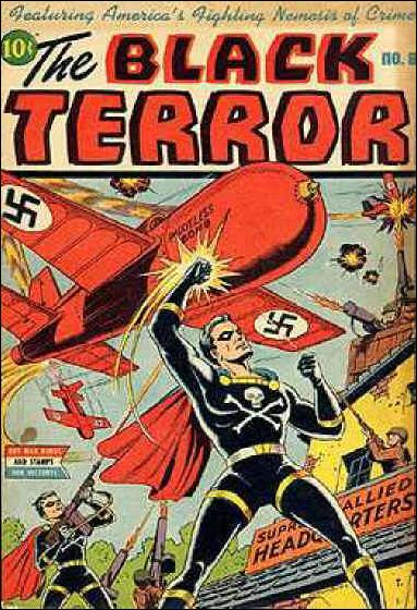 Black Terror (1942) 8-A by Nedor