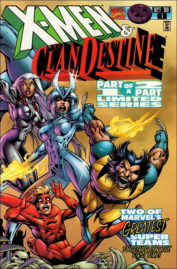 X-Men: ClanDestine 1-A by Marvel