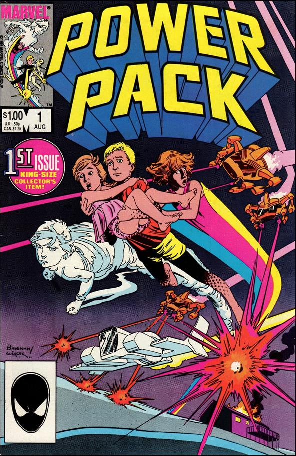 Power Pack (1984) 1-A by Marvel