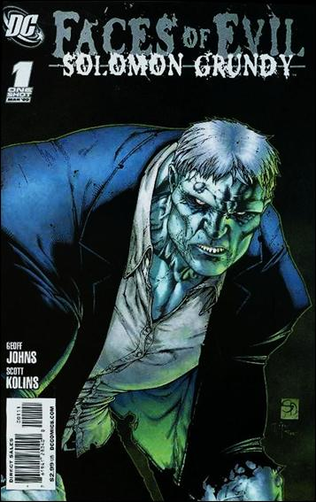 Faces of Evil: Solomon Grundy 1-A by DC