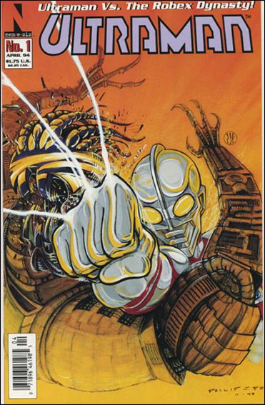 Ultraman (1994) 1-A by Nemesis Comics