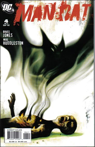 Man-Bat (2006) 4-A by DC