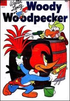 Walter Lantz Woody Woodpecker  21-A by Dell