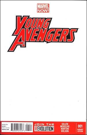 Young Avengers (2013) 1-D by Marvel