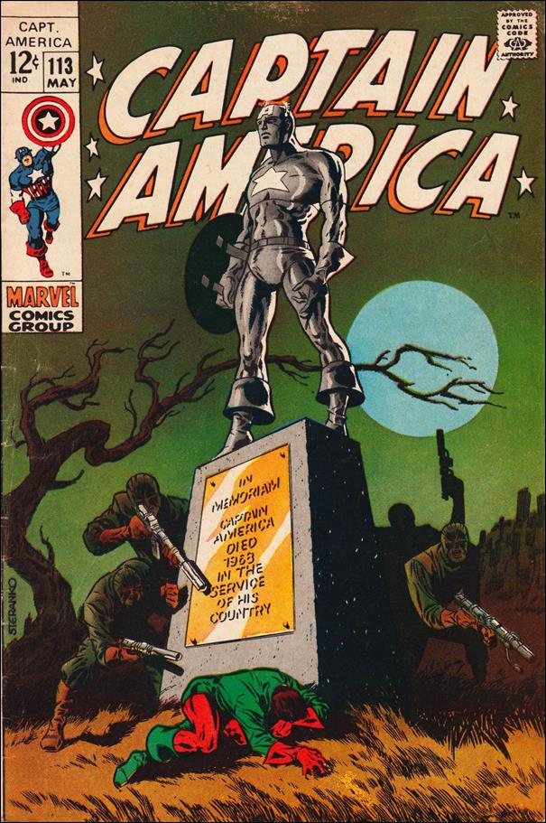 Captain America (1968) 113-A by Marvel