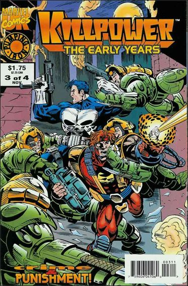 Killpower: The Early Years (UK) 3-A by Marvel UK