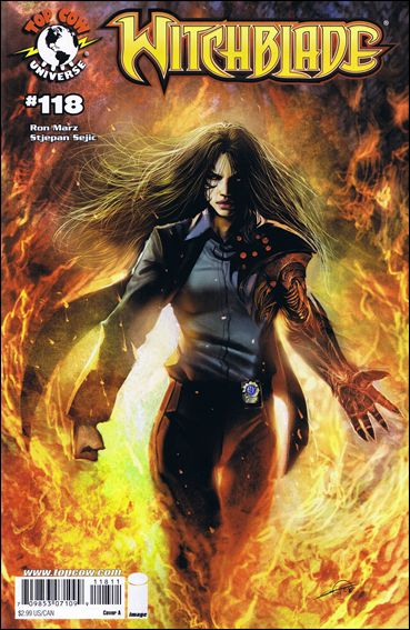 Witchblade 118-A by Top Cow