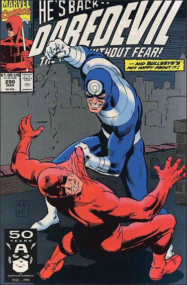 Daredevil (1964) 290-A by Marvel