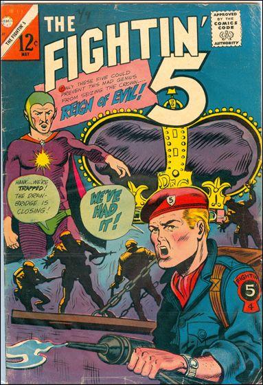 Fightin' 5 37-A by Charlton