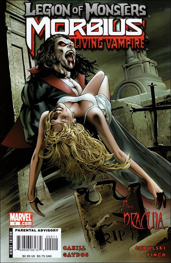 Legion of Monsters: Morbius 1-A by Marvel