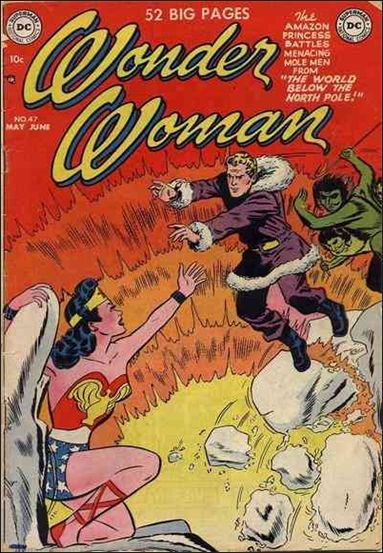 Wonder Woman (1942) 47-A by DC