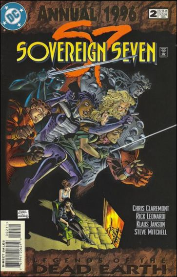 Sovereign Seven Annual 2-A by DC