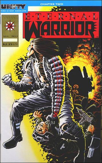 Eternal Warrior (1992) 1-B by Valiant