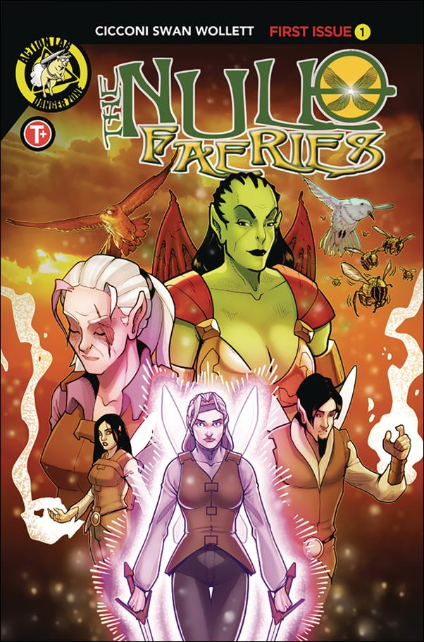 Null Faeries 1-A by Action Lab: Danger Zone