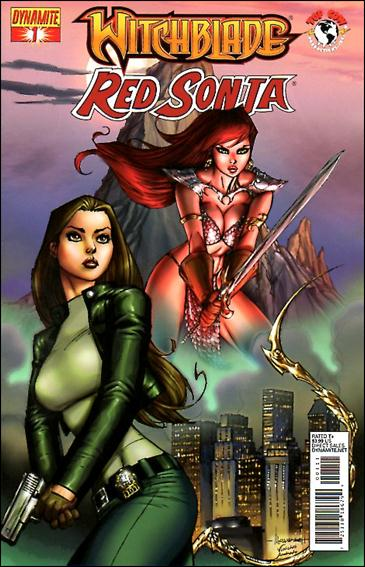 Witchblade/Red Sonja 1-A by Dynamite Entertainment