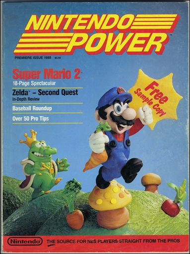 Nintendo Power 1-A by Future Publishing