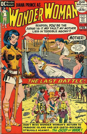 Wonder Woman (1942) 198-A by DC
