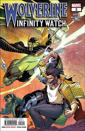 Wolverine: Infinity Watch 2-A