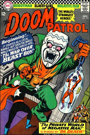 Doom Patrol (1964) 107-A by DC