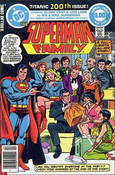 Superman Family 200-A by DC